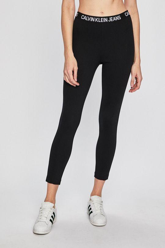 černá Calvin Klein Jeans - Legíny Dámský