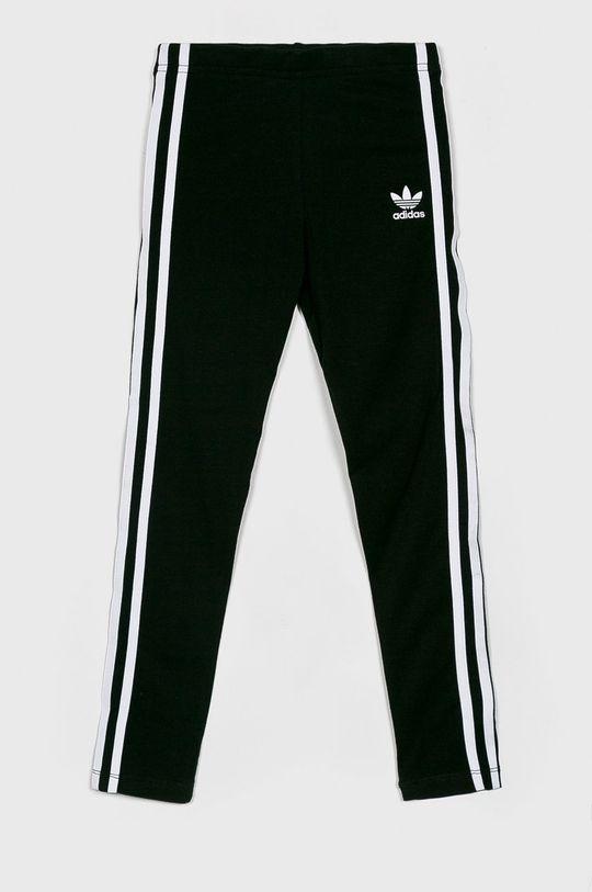 čierna adidas Originals - Detské legíny 128-70 cm Dievčenský