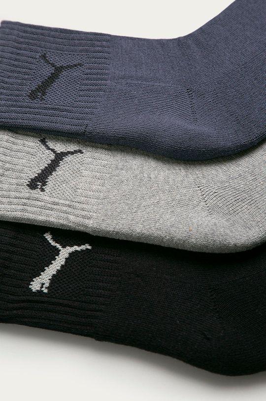 Puma - Ponožky (3-pak) tmavomodrá