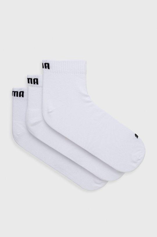 biela Puma - Ponožky (3-pak) Pánsky