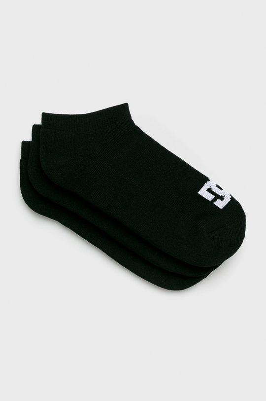 čierna DC - Ponožky (3-pak) Pánsky