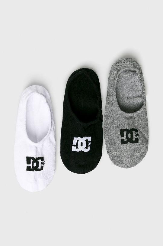 černá DC - Ponožky (3-pack) Pánský