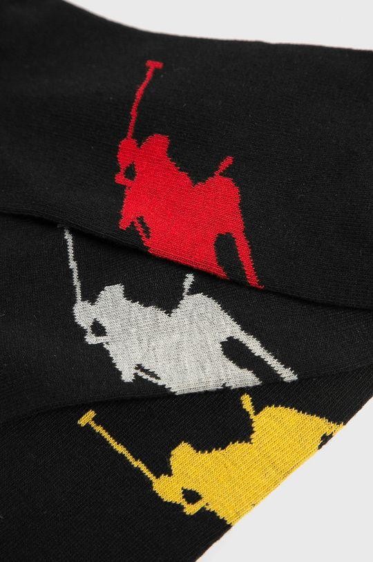 Polo Ralph Lauren - Ponožky (3-pak) čierna