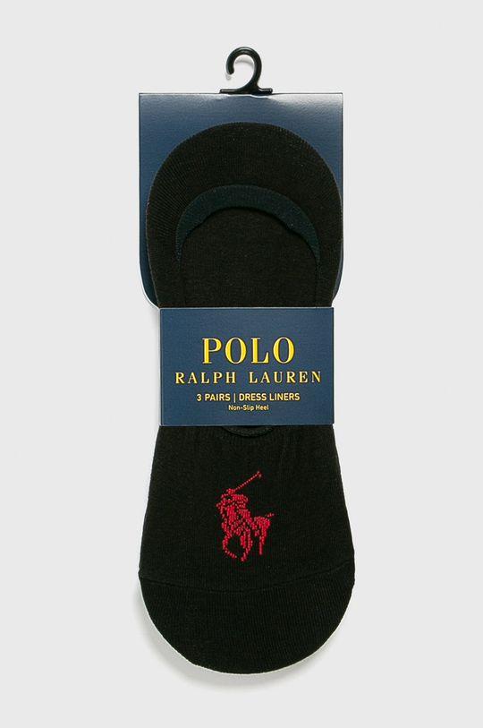 fekete Polo Ralph Lauren - Zokni (3 db) Férfi