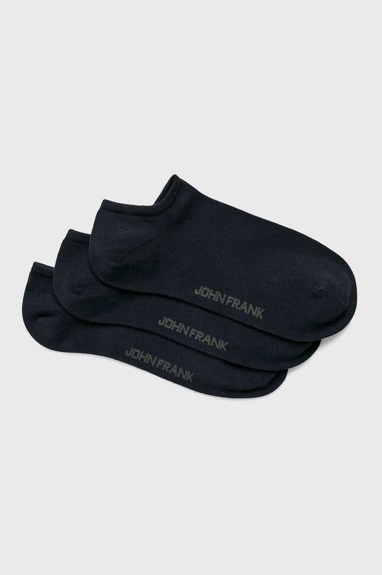 námořnická modř John Frank - Ponožky (3-pack) Pánský