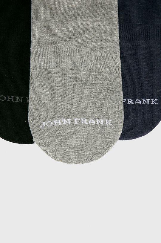 John Frank - Titokzokni (3 db) fekete