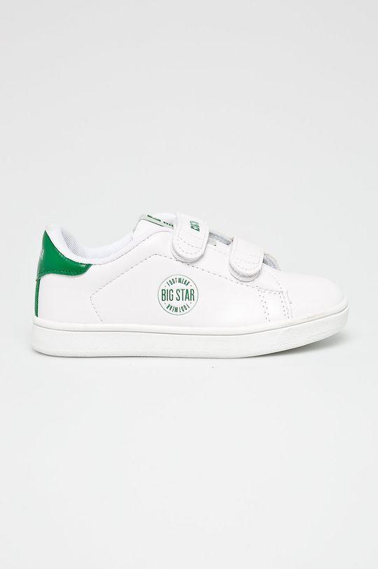 biały Big Star - Buty dziecięce Chłopięcy