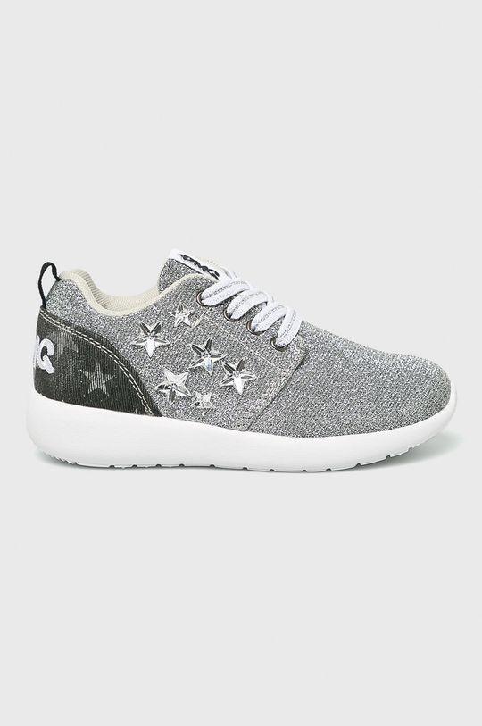 stříbrná Primigi - Dětské boty Chlapecký