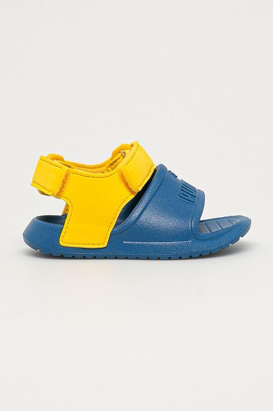 modrá Puma - Dětské sandály Divecat v2 Injex Chlapecký
