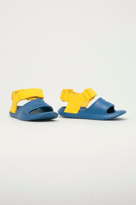 Puma - Dětské sandály Divecat v2 Injex modrá