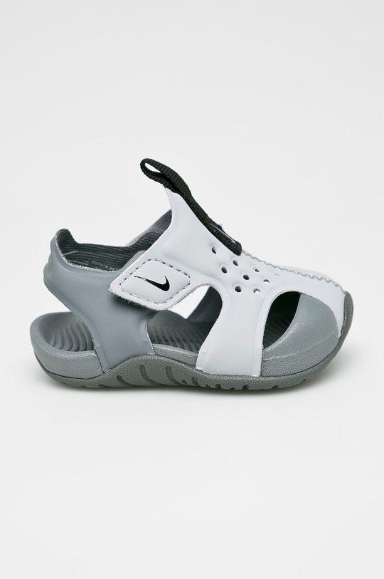 šedá Nike Kids - Dětské sandály Sunray Protect Dětský