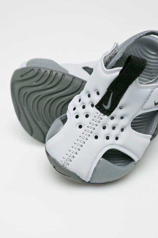 šedá Nike Kids - Dětské sandály Sunray Protect