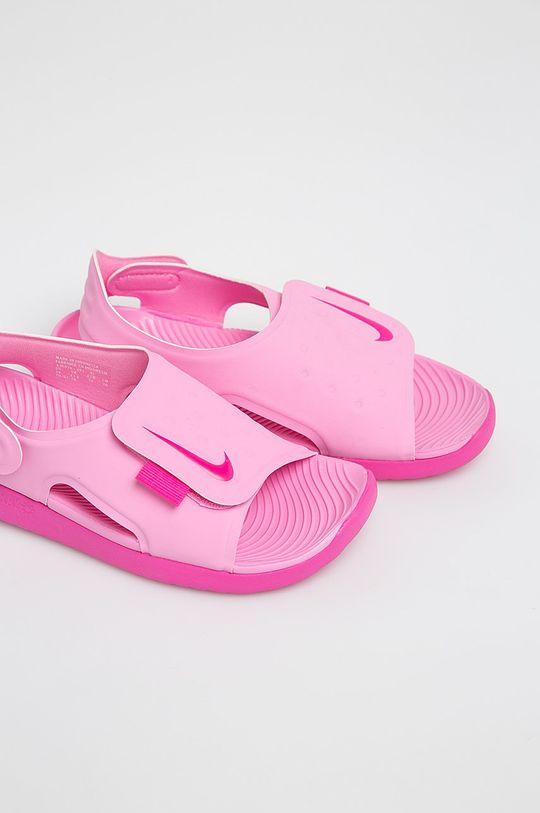 Nike Kids - Dětské sandály Sunray Adjust 5 růžová