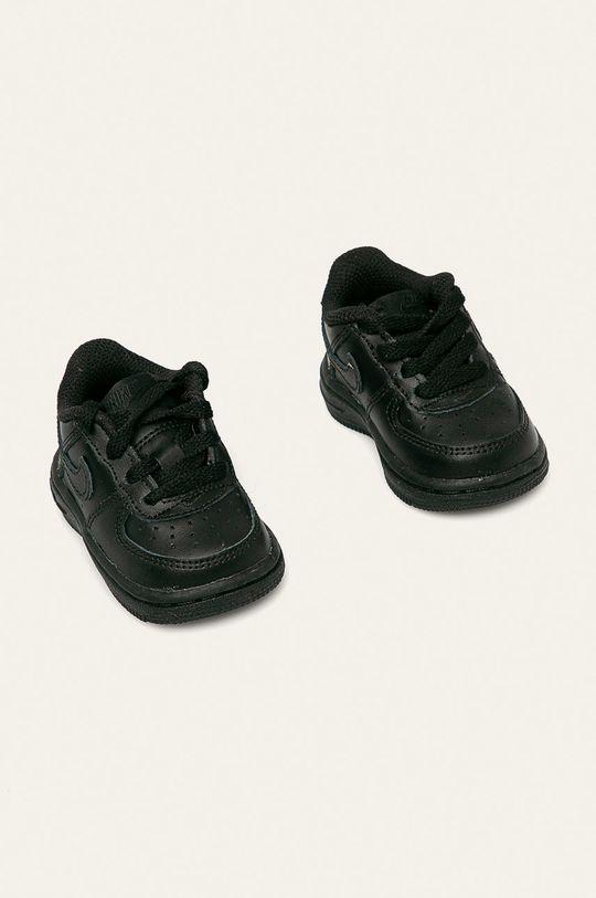 Nike Kids - Detské topánky Force 1 čierna