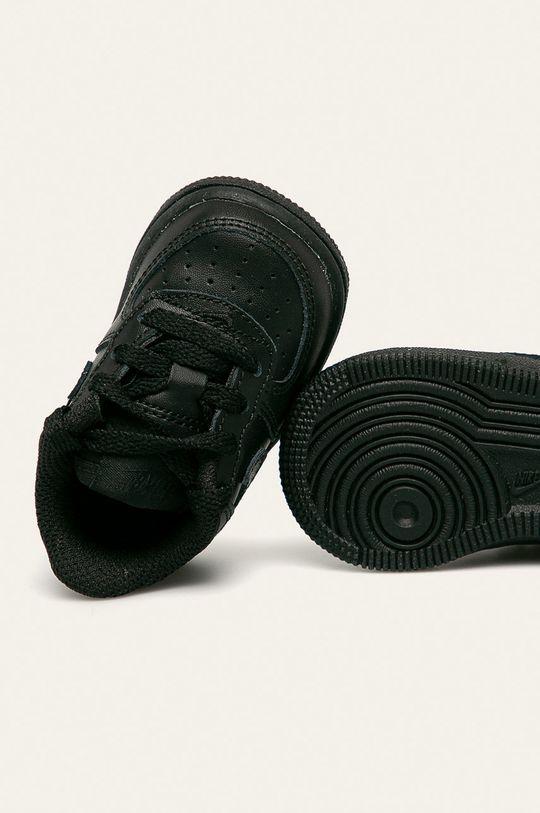 čierna Nike Kids - Detské topánky Force 1