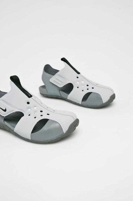 Nike Kids - Dětské sandály Sunray Protect 2 šedá