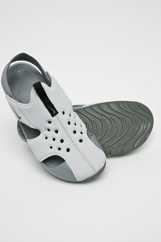 šedá Nike Kids - Dětské sandály Sunray Protect 2
