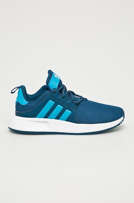 tyrkysová modrá adidas Originals - Detské topánky Chlapčenský