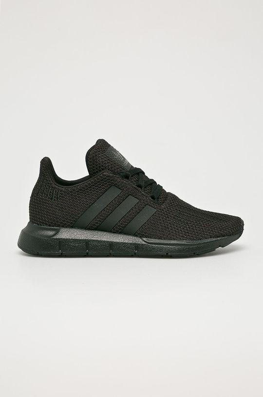 čierna adidas Originals - Detské topánky Swift Run Chlapčenský
