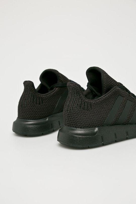 čierna adidas Originals - Detské topánky Swift Run