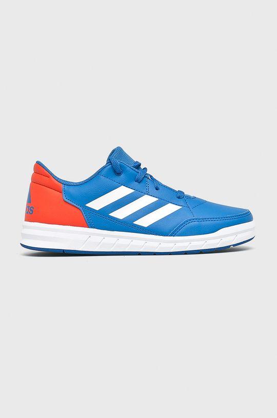 modrá adidas Performance - Detské topánky Alta Sport Chlapčenský