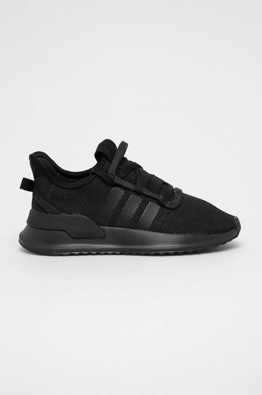 czarny adidas Originals - Buty dziecięce U Path Run Chłopięcy