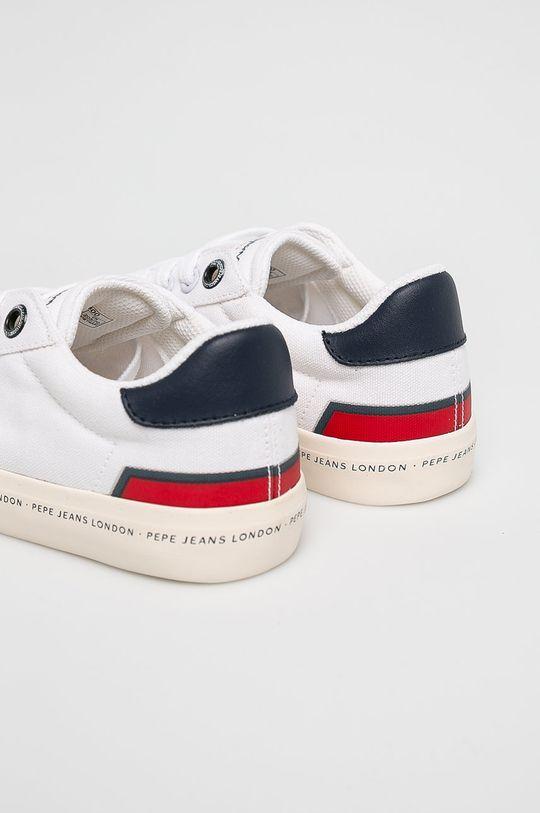 Pepe Jeans - Dětské tenisky bílá
