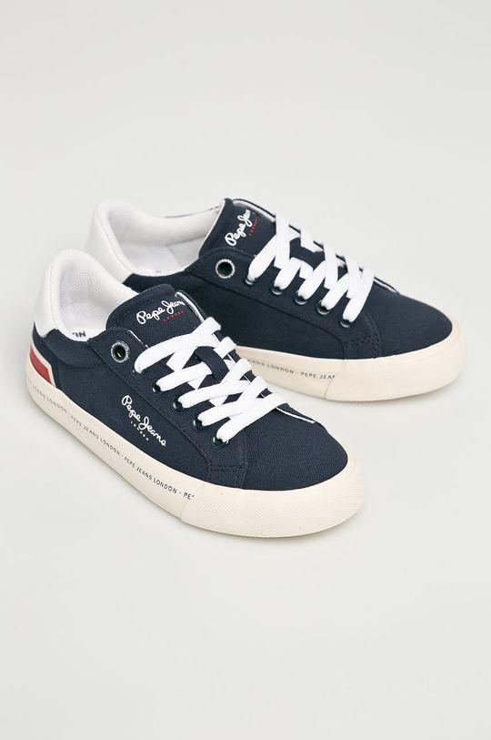 Pepe Jeans - Dětské tenisky námořnická modř