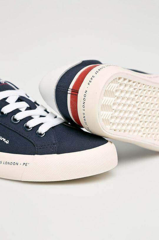 námořnická modř Pepe Jeans - Dětské tenisky