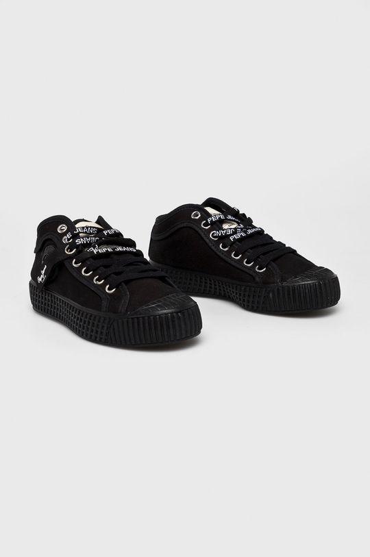 Pepe Jeans - Dětské tenisky černá
