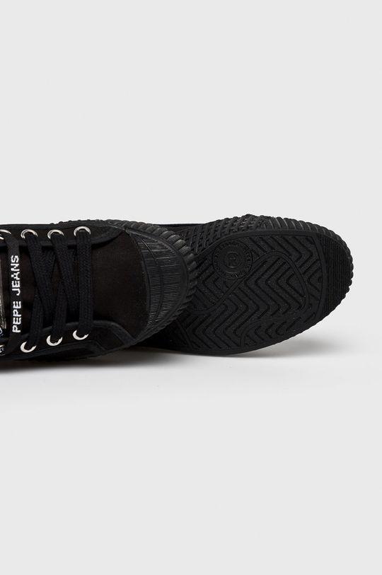 černá Pepe Jeans - Dětské tenisky