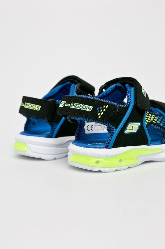 Skechers - Dětské sandály Svršek: Umělá hmota Vnitřek: Textilní materiál Podrážka: Umělá hmota