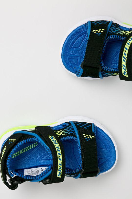 černá Skechers - Dětské sandály