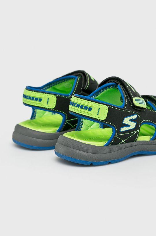 Skechers - Sandały dziecięce Cholewka: Materiał syntetyczny, Wnętrze: Materiał syntetyczny, Materiał tekstylny, Podeszwa: Materiał syntetyczny