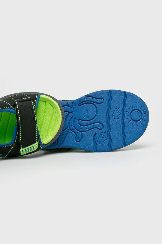 czarny Skechers - Sandały dziecięce
