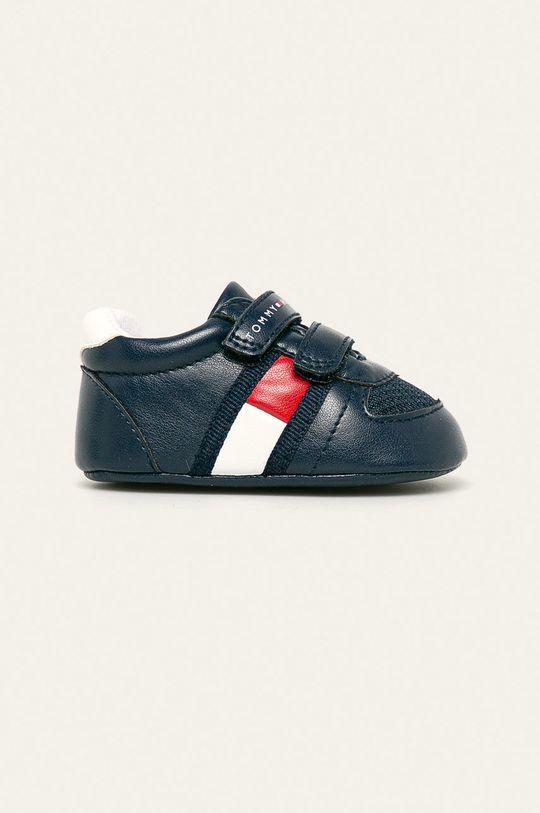 námořnická modř Tommy Hilfiger - Dětské boty Chlapecký