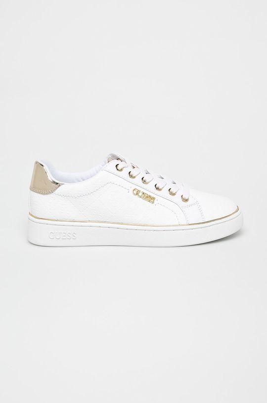 alb Guess Jeans - Pantofi De femei