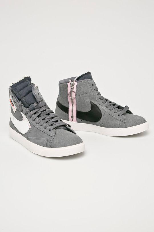 Nike Sportswear - Pantofi Blazer Mid Rebel gri