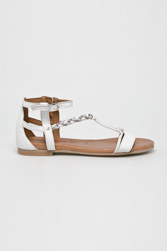 biela Tamaris - Sandále Dámsky
