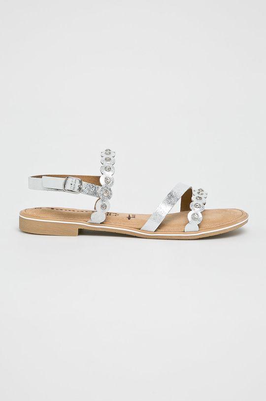 strieborná Tamaris - Sandále Dámsky