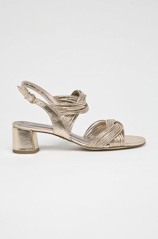 zlatá Tamaris - Sandále Dámsky