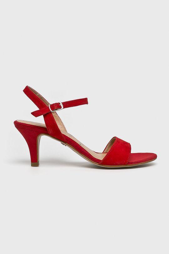 červená Tamaris - Sandále Dámsky