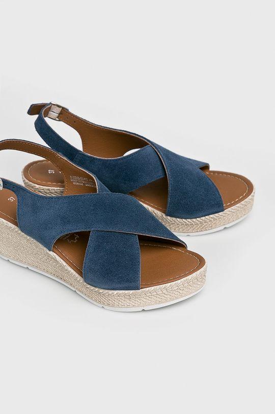 Marco Tozzi - Sandały niebieski