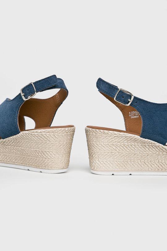 niebieski Marco Tozzi - Sandały