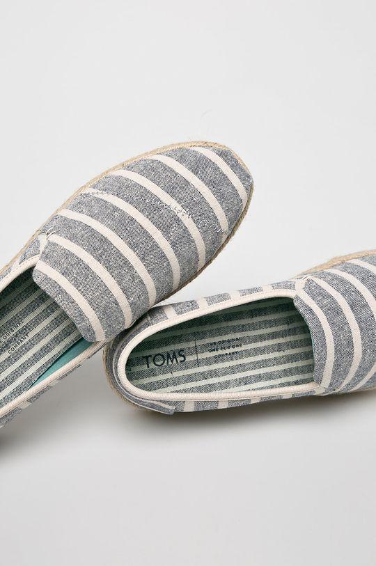 Toms - Espadrilles Deconstructed Alpargata Rope  Szár: textil Belseje: textil Talp: szintetikus anyag, textil