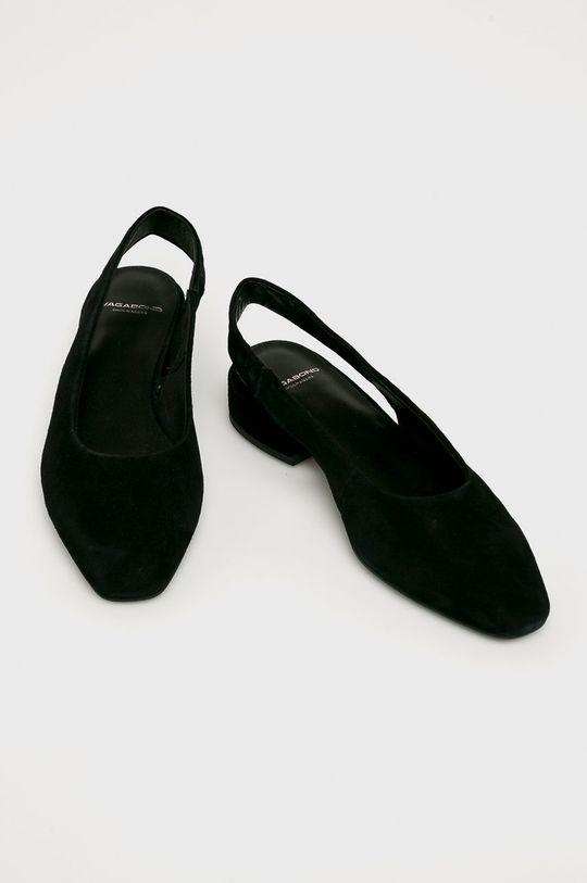 Vagabond - Sarkas cipő Joyce fekete
