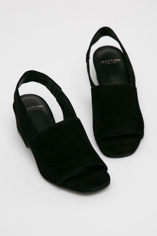 Vagabond - Sandále Elena čierna