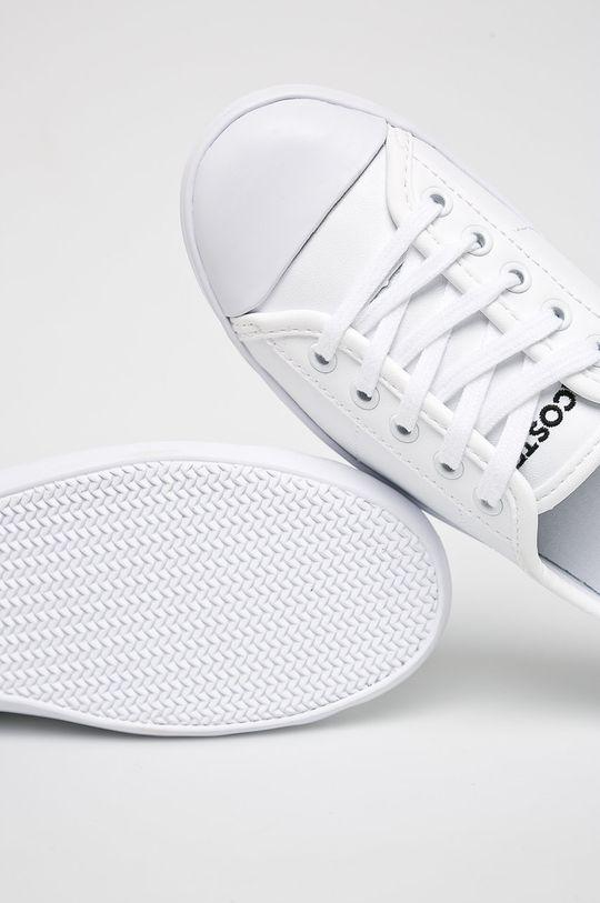 biały Lacoste - Tenisówki Ziane BL 1 CFA
