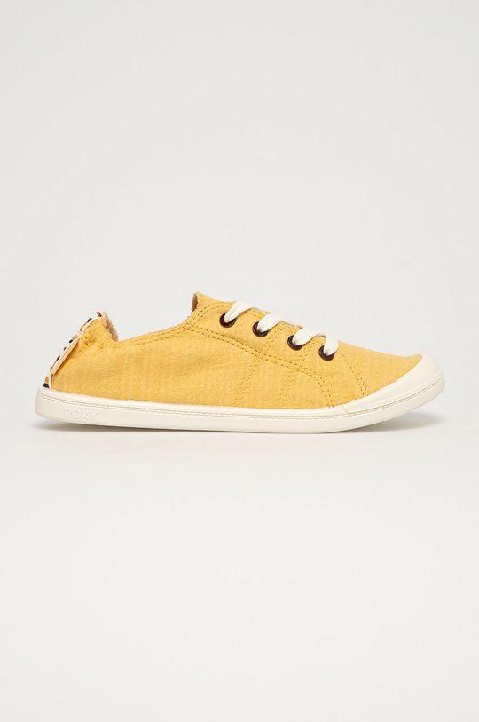 jasny żółty Roxy - Tenisówki Bayshore III Damski