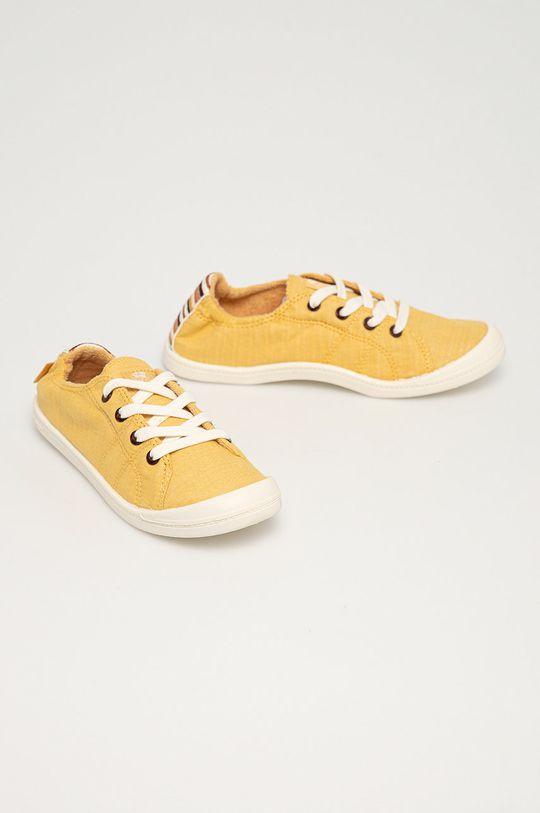 Roxy - Tenisówki Bayshore III jasny żółty